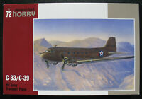 Special Hobby 72176 - Douglas C-33 /C-39 - US Army Transport Plane - 1:72 - Kit