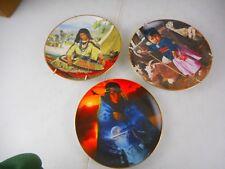 3 Hamilton Collector's Native American Plates