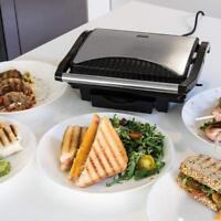 Cecotec 03023 Panini Grill - Parrilla eléctrica, plancha y sandwichera 1000W
