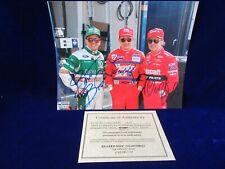 SIGNED ORIGINAL W/COA BRETT TODD GEOFF BODINE PHOTO NASCAR NHRA DRAG RACING #2