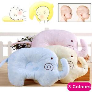 Kids Soft Pillow Memory Pillow Foam Prevent Flat Head Anti Roll support Neck
