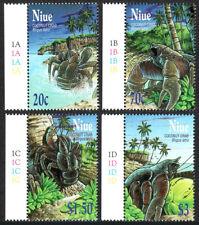 Niue 759-762, MNH. Coconut Crabs, 2001