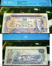 ERROR -cUT oUT oF Register -Next note Showing - 1971 Bank of Canada $10