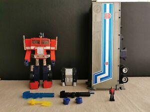 Transformers Red foot Ceji Optimus prime + diaclone pilot + Matrix of Leadership