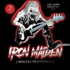 IRON MAIDEN  2 MINUTES TO EINDHOVEN  2CD (New, sealed)