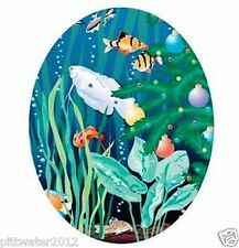 Tropical Fish in the Sea Toilet Sticker Removable Wall Decal Home Kids Bathroom