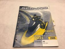 SeaDoo 2000 RX Models 5513/5514 Parts Catalog Manual