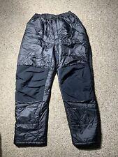 Mountain Hardware Compressor Pants Men's XXL 2XL Insulated Puffer Black