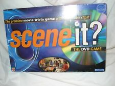 Mattel Scene It New/ Unused/ Orginal wrapping DVD trivia game with movie clips