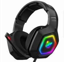 Gaming Headset Headphones Wired Gamer Headphone Stereo Sound Headsets