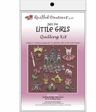 Quilled Creations Paper Quilling Kit  JUST FOR LITTLE GIRLS Castle, Crown ~ 412