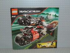 LEGO® Racers Bauanleitung 8167 Jump Riders ungelocht instruction B2107