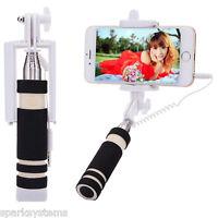 Adjustable Selfie Stick Monopod Mount Holder Bluetooth Wireless Remote Shutter