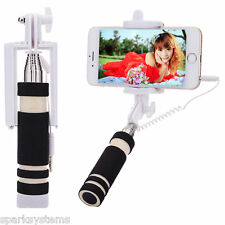 Adjustable Selfie Stick Monopod Mount Holder Bluetooth Wireless Remote Shutter