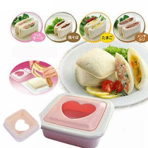 Mould Cutter DIY Love Heart Shape Sandwich Bread Toast Maker Mold small Portable