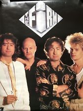 The Firm (Jimmy Page, Paul Rodgers) Debut Rare original promo poster 1985