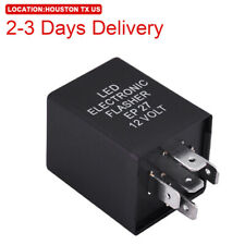 US Location 5-Pin EP27 FL27 LED Flasher Relay Fix Turn Signal Hyper Flash Issue