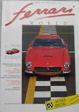 Ferrari World magazine Issue 3, October/November 1989 250 GT Berlinetta