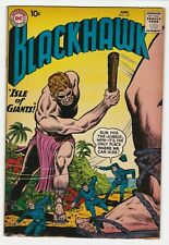 Blackhawk #137 F+ 6.5 Adventure War Isle of Giants Andre Olaf Chuck Chop Chop