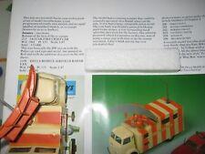 Radar de Corgi 1106 Decca móvil original buen camión en buenas usado caja original