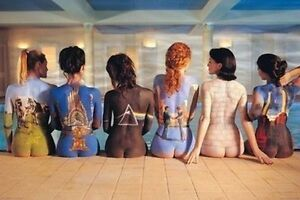 PINK FLOYD - BACK ART POSTER - 24x36 ALBUMS SEXY GIRLS 9098