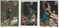 1997-98 Grant Hill 3pc Card Lot Detroit Pistons NBA🏀 Topps, Fleer Gold, Crystal