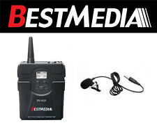 Best Media BM-482U Belt Pack & Lavalier Microphone Piece (Accessorries Only)