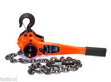 1-1/2 Ton Lever Block Hoist Chain Ratchet Come Along Chain Hoist