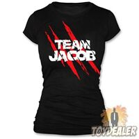 TWILIGHT TEAM JACOB BLACK TAYLOR LAUTNER FAN FILM GIRLS T-SHIRT GRÖSSE M NECA #2