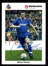 Marco Grimm Karlsruhe sc 2001-02 top AK + a 72047