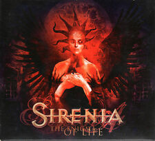 SIRENIA the enigma of life CD 4-panel embossed digipak edition w/2 bonus tracks