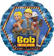 BOB THE BUILDER FOIL MYLAR BALLOON ~ Birthday Party Supplies Helium Decoration