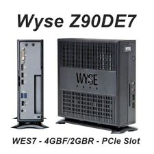 Wyse Z90DE7 Thin Client - Flash 4 GB - RAM 2 GB - 1 x G-T56N 1.65 GHz PCIe