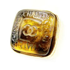 chanel Ring COCO Mark  Used Auth T10174