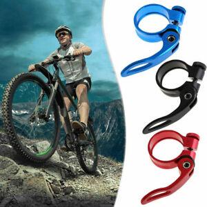 31.8mm Aluminum Alloy MTB Bike Bicycle Cycling Saddle Seat Post Clamp New L/&6