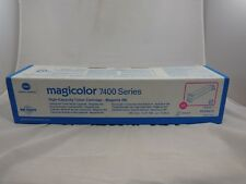 Konica Minolta Magicolor 7400 Series, High Capacity Toner: Magenta - NEW
