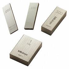 Mitutoyo 611212 531 Rectangular Steel Individual Gage Block 250 Asme Grade O