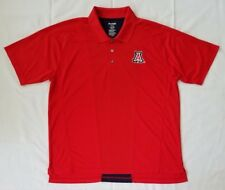 Mens XL Red Blue ProEdge by Knights Apparel Short Sleeves Polo Shirt preowned