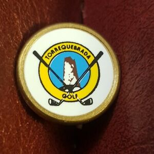 Torrequebrada Golf Club Ball Marker (Vintage Brass)