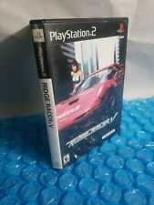 PS2 Ridge Racer V 5 (Sony PlayStation 2, 2000) Complete Tested