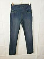 Jag Jeans Womens Jeans High Rise Slim Leg Dark Wash Stretch Size 8