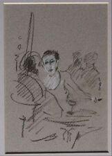 Dessins et lavis du XXe siècle et contemporains en scène de genre pour Art déco