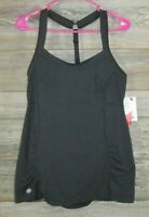 Womens Athleta Peace Of Mind Cami Top Black Sz Large NEW