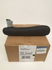2012-2013 FIAT 500 FRONT SEAT ARMREST BROWN LEATHER OEM X9 CZC LAX 1VC77KU8AB