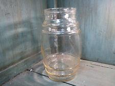 antico grande barattolo caramelle vetro antica negozio di alimentari barile