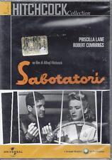 Dvd video **SABOTATORI** di Alfred Hitchcock nuovo sigillato 1949