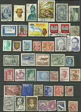Small World stamps collection of 45, Australia, netherlands, Italy, Malta used
