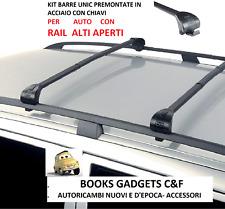 Renault Laguna Grandtour Sw 01>07 Kit Barre Premontate C/Chiavi RAIL APERTI