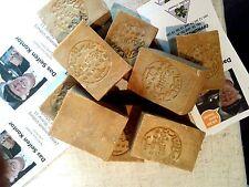 Original Alepposeife Olivenöl/ Lorbeeröl 8 Stück Seifen ca.1440 g. Naturseife.