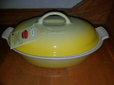 Le Creuset Covered Caribbean 4 quart Baking Dish